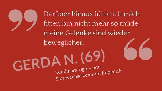 Lebensfreude Zitat Gerda N.