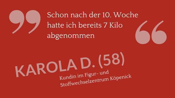 Kundenstimme Zitat Karola D (58)