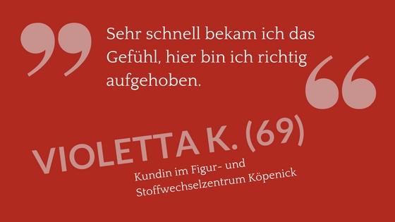 Erfahrungsbericht Zitat Violetta K. (69)